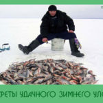 Секреты удачного зимнего улова