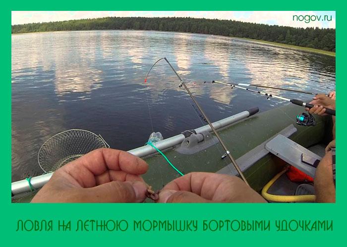 статья рыбалка с боковым кивком и летней мормышкой