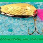 Рыболовная блесна: виды, ловля, выбор