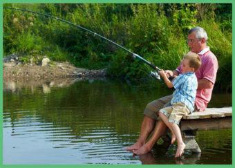 отдых с рыбалкой